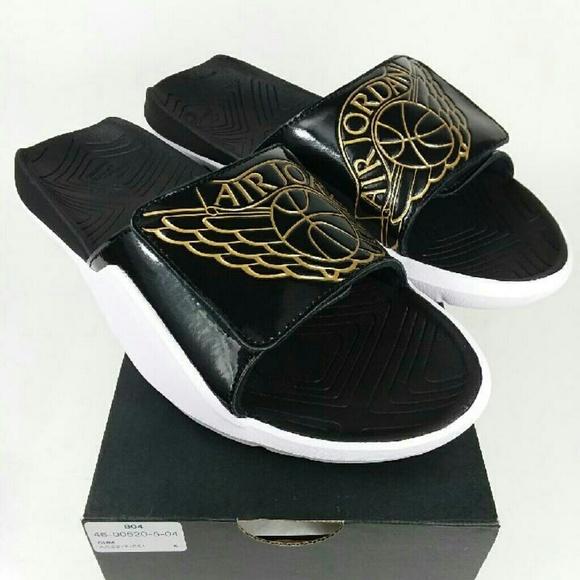 b3a1fd7e3e8c50 NWT Jordan Hydro 7 Slides Sandals